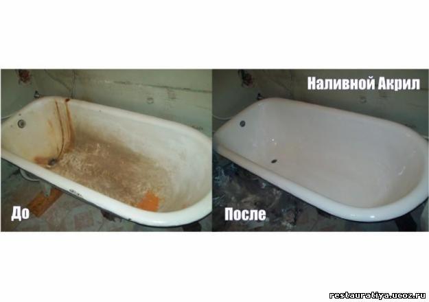 Покрытие чугунной ванны эмалью своими руками 66
